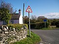 Minor road to Beaumaris from the Pen-y-parc crossroads - geograph.org.uk - 1548356.jpg