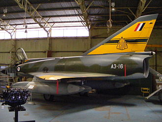 James Rowland (RAAF officer) - RAAF Mirage fighter in ARDU livery