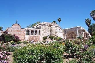 Mexican secularization act of 1833 - Mission San Juan Capistrano