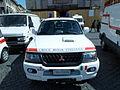 Mitsubishi Croce Rossa Italiana ambulance in Rome pic1.JPG