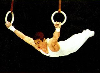 Mitsuo Tsukahara Japanese artistic gymnast