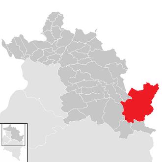 Mittelberg - Image: Mittelberg im Bezirk B