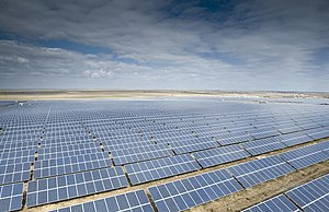 Solar power in Ukraine - Image: Mityaevo Solar Park 2012