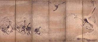 Œuvre attribuée à Miyamoto Musashi