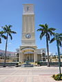 Mizner Park Boca June 2010 clock tower 2.jpg