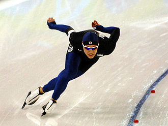 Mo Tae-bum - Mo Tae-bum during the 500 m speed skating competition at the 2010 Winter Olympics.