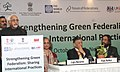 "Mohd. Hamid Ansari addressing at the inauguration of the ""Conference on Strengthening Green Federalism Sharing International Practices"" organized by TERI, in New Delhi. The DG, The Energy and Resources Institute (TERI).jpg"