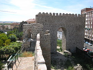 Talavera de la Reina - An albarrana tower of the ancient city walls.