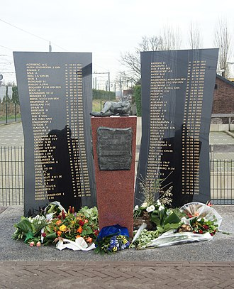 Harmelen train disaster - Memorial to victims of the Harmelen train disaster