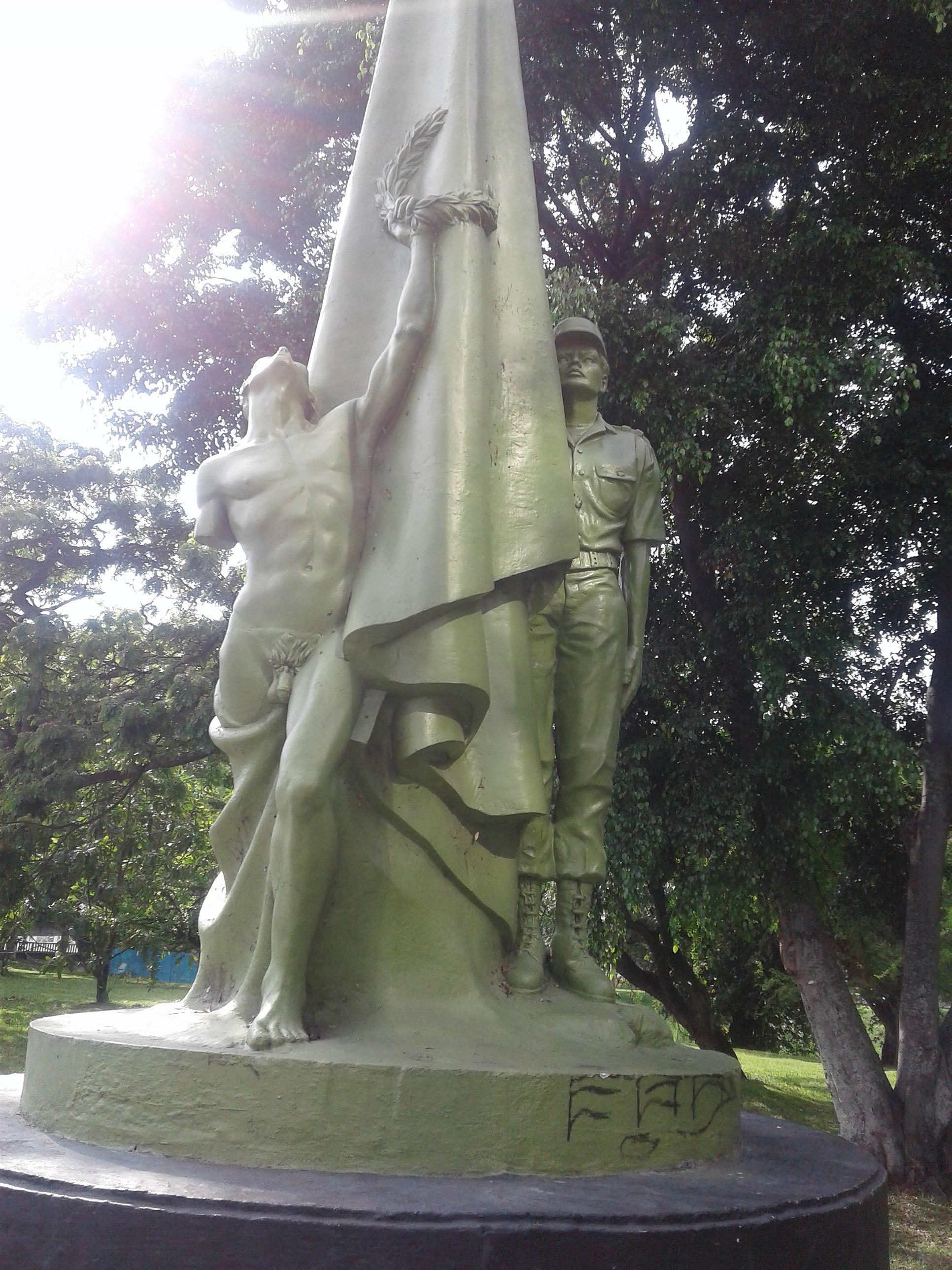 File:Monumento a la Policía Nacional de Colombia 03 jpg - Wikimedia