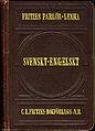 Morén, Svenskt-engelskt parlörlexikon (1912) Fritzes - omslag.jpg