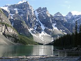 Moraine Lake 1 July-2001.JPG