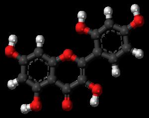 Morin (flavonol) - Image: Morin 3D balls