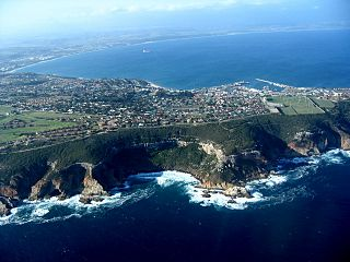 Mossel Bay town in Western Cape, South Africa