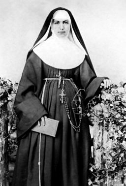 Mother Marianne Cope in her youth
