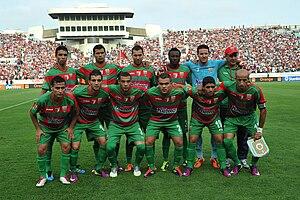 Algiers Derby - Image: Mouloudia d'Alger, CAF Champions League, July 31 2011 1