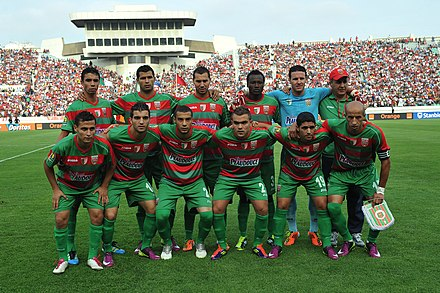 Wydad de Casablanca vs MC Alger. - Mouloudia Club d'Alger (football)