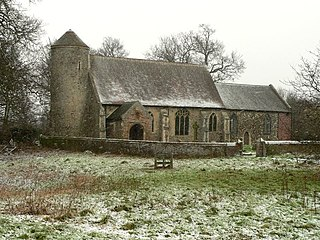 St Marys Church, Moulton Church in Norfolk, England