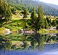 Mountain landscape to Balea Lac - Peisaj montan spre Balea Lac - panoramio.jpg