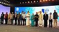 Mridula Sinha, the Union Minister for Urban Development, Housing & Urban Poverty Alleviation and Information & Broadcasting, Shri M. Venkaiah Naidu, the Union Minister for Defence, Shri Manohar Parrikar.jpg