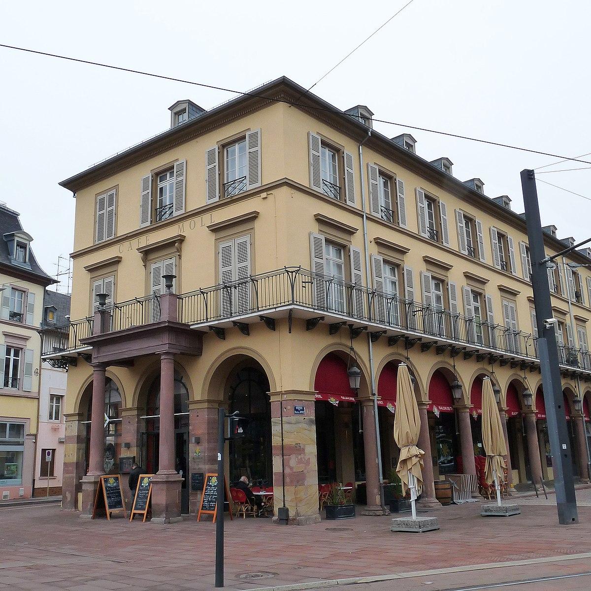 Immeuble au 6 place de la r publique mulhouse wikip dia - Caf mulhouse adresse ...