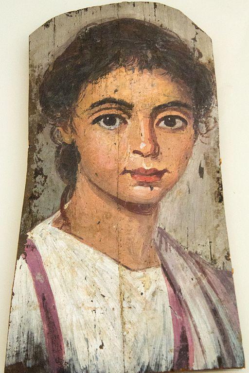 portrait d'un jeune garçon au Altes museum de Berlin - Photo de ZDE.