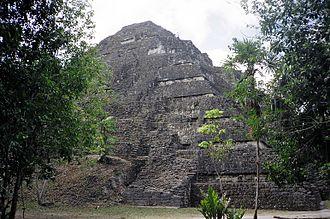 Mundo Perdido, Tikal - The Lost World Pyramid viewed from the north