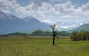 Bavarian Alps - Bavarian Alps, view from Murnau