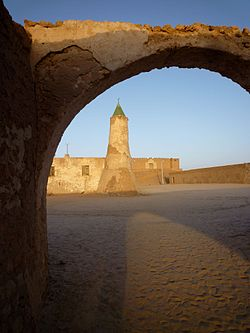 Fort and mosque of Murzuk
