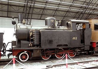Mogadishu–Villabruzzi Railway - A R.301 locomotive, similar to those used in Somalia