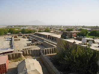 Musa Qala - The town of Musa Qala in Afghanistan