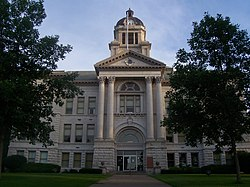 Muscatine County Courthouse in Muscatine