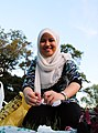 Muslim girl in a tudung - 20100718.jpg
