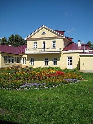 Votkinsk - Inner courtyard of Tchaikovsky's Museum Estate