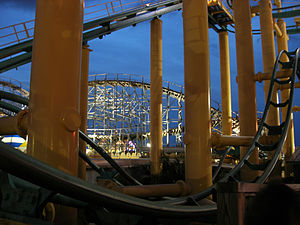Myrtle Beach Pavilion - Mad Mouse and Hurricane