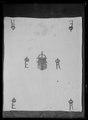 Näsduk i linne med Erik XIVs namnchiffer och Vasa-vapnet - Livrustkammaren - 53317.tif