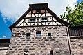 Nürnberg, Stadtbefestigung, Turm Grünes M 20170616 003.jpg