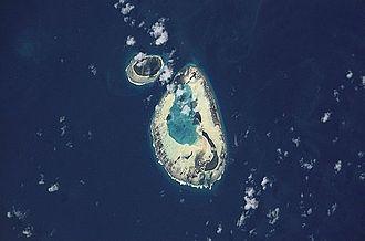 D'Arros Island - Image: NASA Saint Joseph Darros