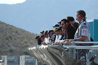 Spotter (auto racing) - NASCAR spotters at Phoenix International Raceway – 2004