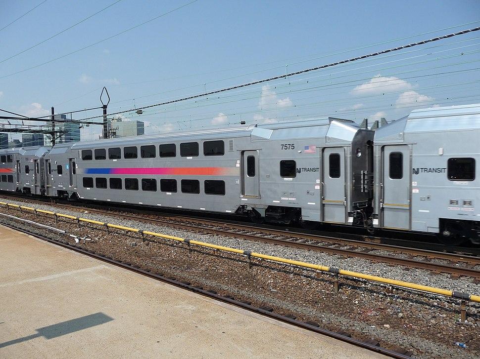 NJ Transit multilevel passeger car 7575