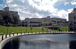 "Northern Kentucky University - Northern Kentucky University's ""Loch Norse"" and University Center"