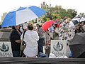 NOLA BP Oil Flood Protest brollys Jax.JPG