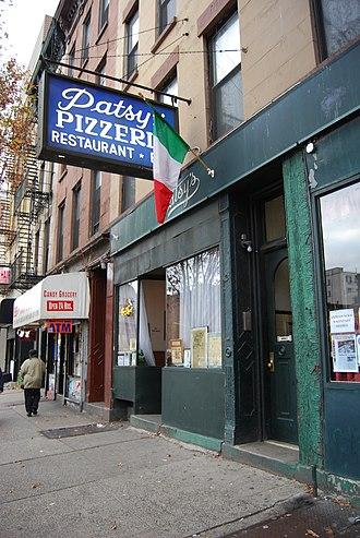 East Harlem - Patsy's Pizzeria