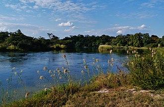 Okavango River - Okavango in Kavango, Namibia