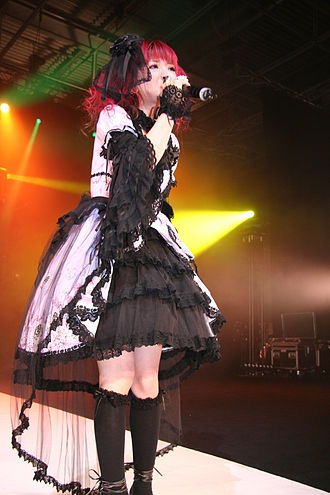 Nana Kitade - Nana Kitade in the 5th Japan Expo convention in Paris, France.
