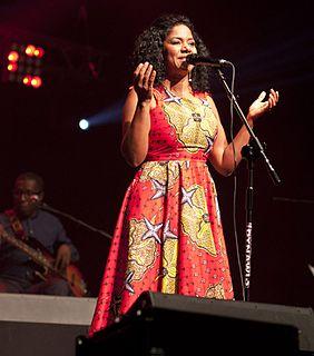 Nancy Vieira Cape Verdean singer
