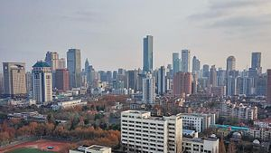 Nanjing Xinjiekou Skyline