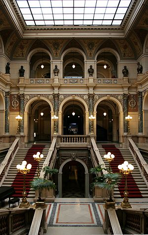 National Museum (Prague) - Main hall of the Czech National Museum