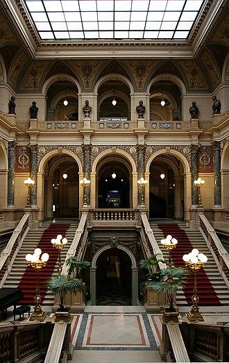 National Museum (Prague) - Main hall of the Czech National Museum