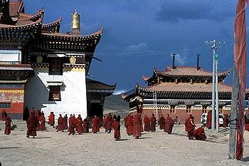 Bönpa monastery of Narshi Gonpa
